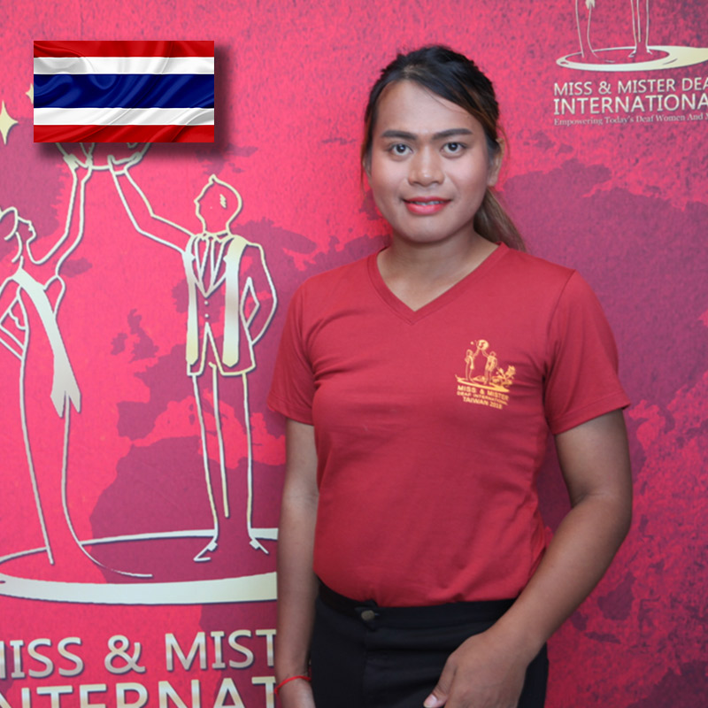 Miss Deaf Thailand (Somporn Kaewkeod)