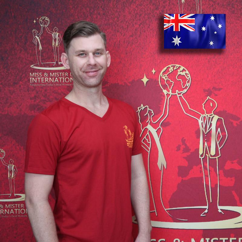 Mister Deaf Australia (Ben Tutty)