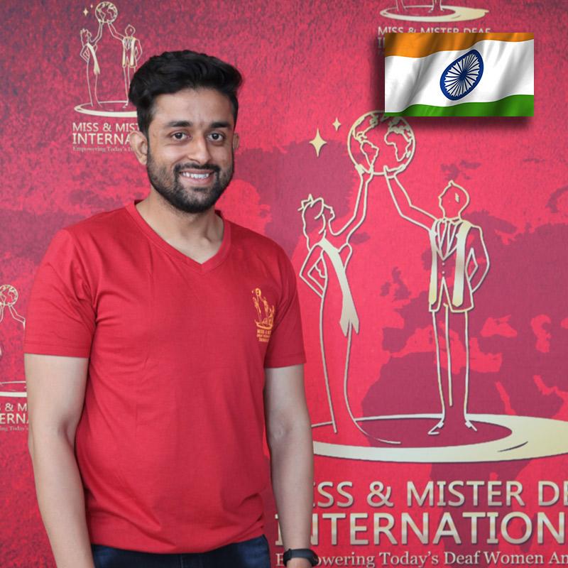 Mister Deaf India (South)  (Ashish Nandwani)
