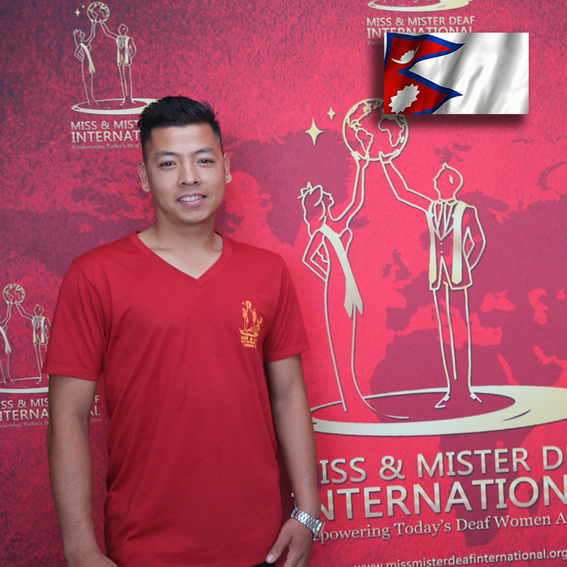 Mister Deaf Nepal (Sanoj Maharjan)