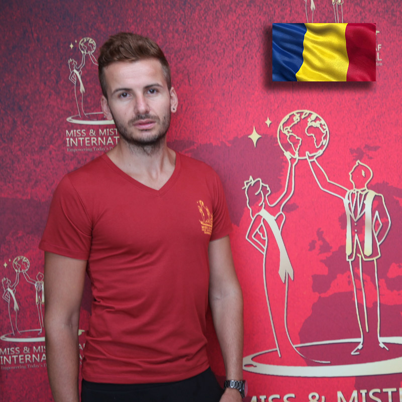 Mister Deaf Romania (Simion Marius Balasoiu)
