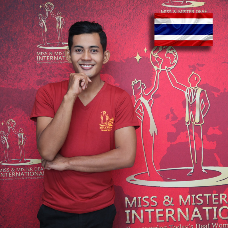 Mister Deaf Thailand (Puwadech Yindee)