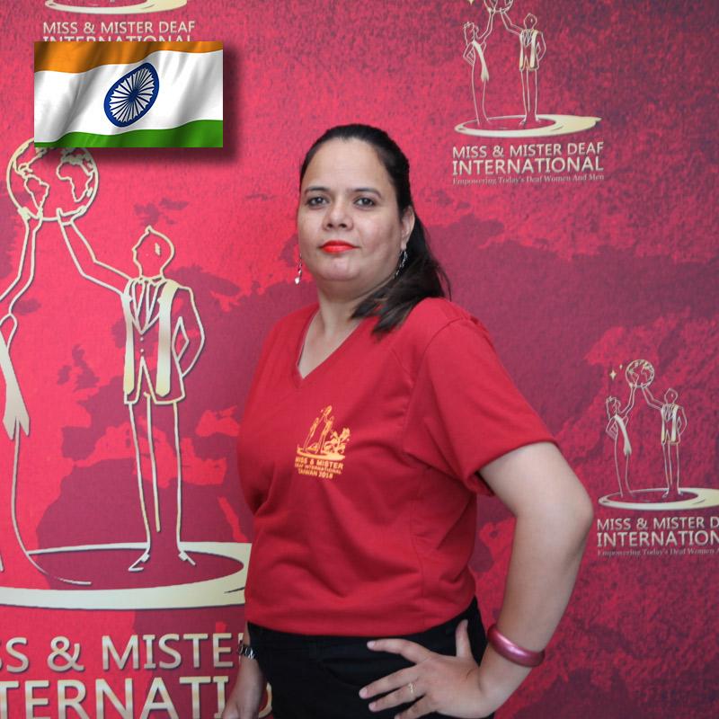 Miss Deaf India (Sudha Kumari Bhanwara)
