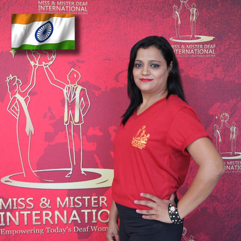 Miss Deaf India (Amisha Varia)