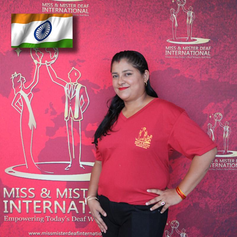 Miss Deaf India (Ankita Ajmera)
