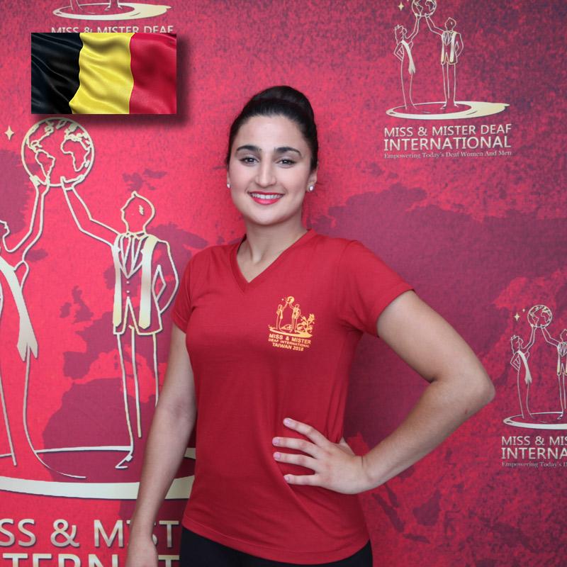 Miss Deaf Belgium (Assia Kassmi)