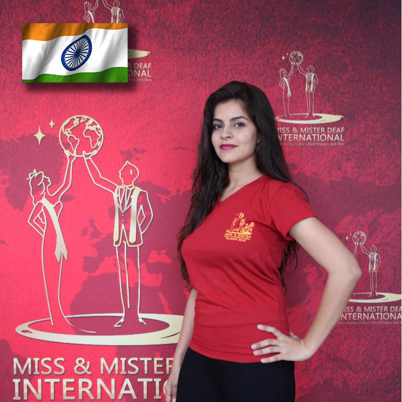 Miss Deaf India (West) (Mital Thacker)