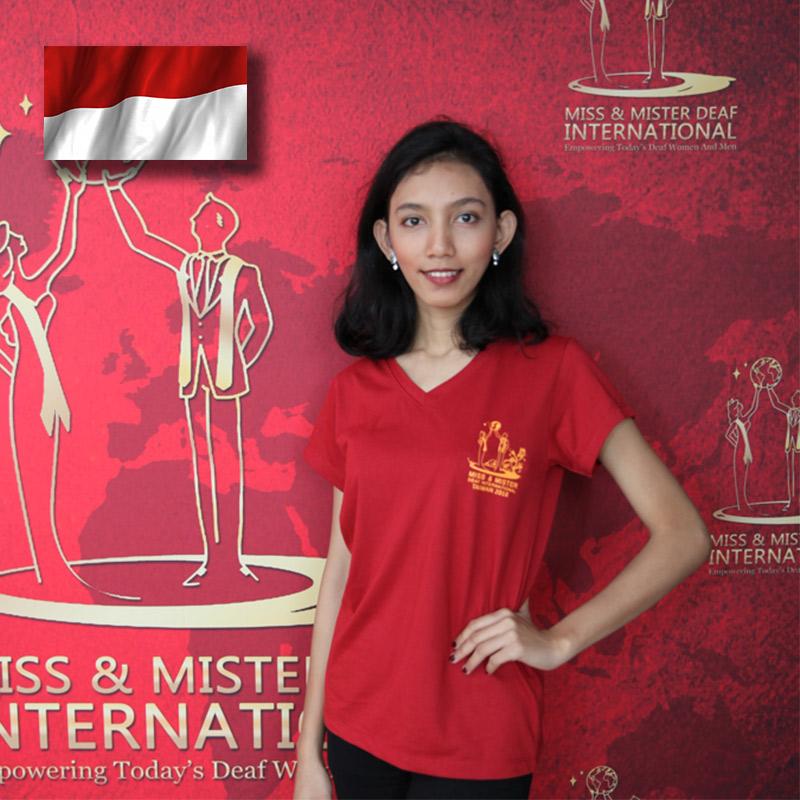 Miss Deaf Indonesia (Nadia Dwi Fahrani)