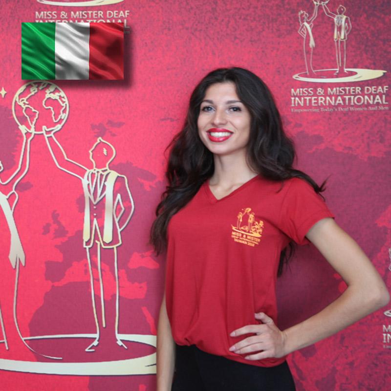 Miss Deaf Italy (Natalia Colombo)