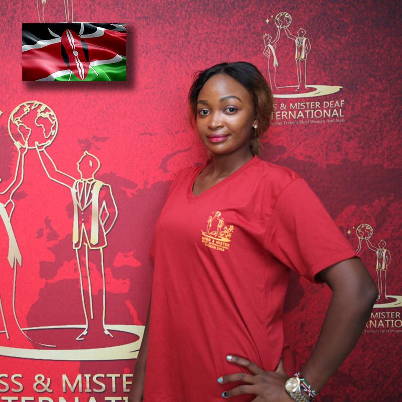 Miss Deaf Kenya (Babelynn Mukila)