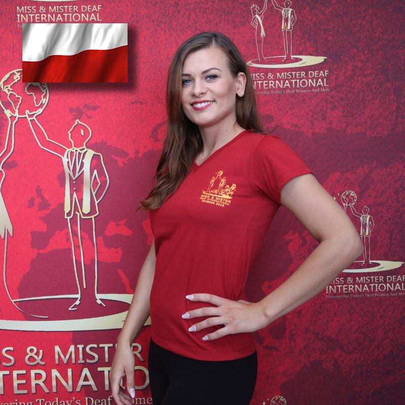 Miss Deaf Poland (Angelika Kuzin)