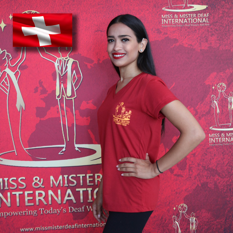 Miss Deaf Switzerland (Merlinda Cvorovic)