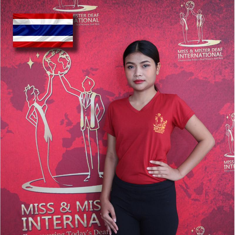 Miss Deaf Thailand (Natnicha Thongkasem)