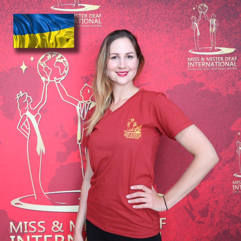 Miss Deaf Ukaraine (Sythikova Valeria)